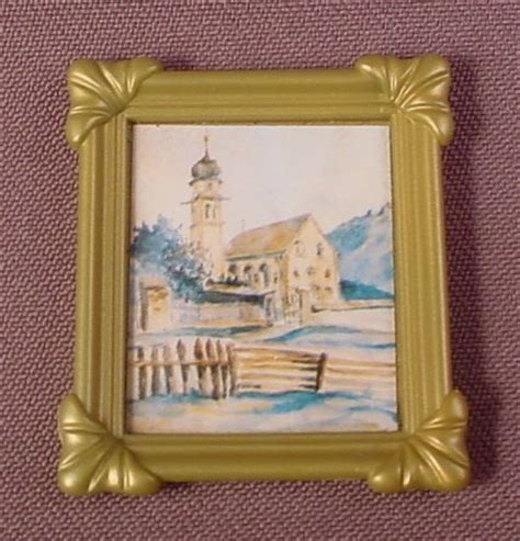 dolls house picture frames playmobil gold picture frame with picture sticker 5300 victorian doll house rons