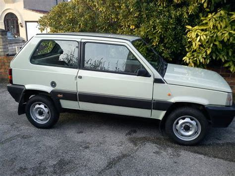 classic fiat panda 1986 fiat panda 4x4 sold car and classic