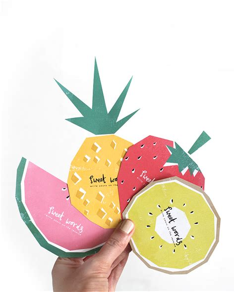 free printables free printable fruit themed cards for guest book well