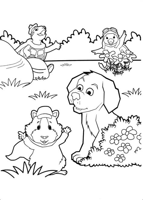 fun coloring pages wonder pets coloring pages