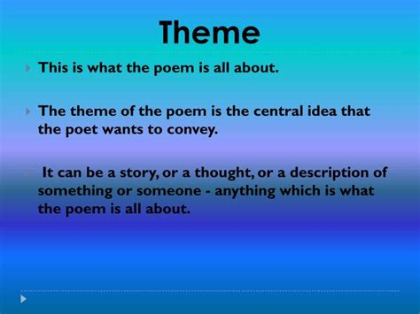 powerpoint themes poetry ppt mood tone imagery theme powerpoint presentation