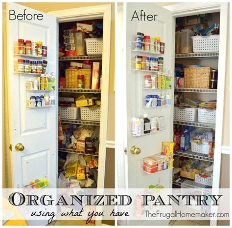 before and after organizing 10 simple tips to an organized pantry