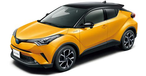two tone color toyota c hr gets two tone exterior colours in japan