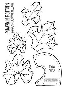pumpkin leaf template fall pumpkins tutorial pinksuedeshoe