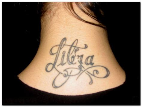 libra tattoo example photos