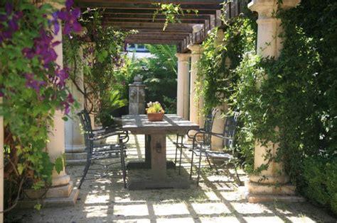 tuscan backyard landscaping ideas tuscan getaway bradanini