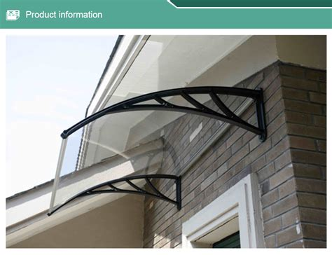 awning polycarbonate durable diy polycarbonate awning plastic roof patio canopy