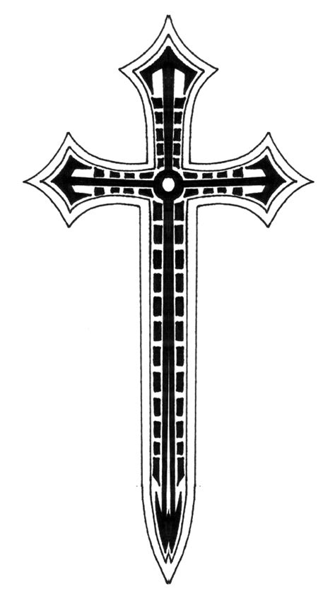 cross sword tattoo christian sword pictures to pin on