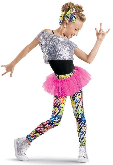 girl dance themes weissman sequin tee with print leggings kate s 2015