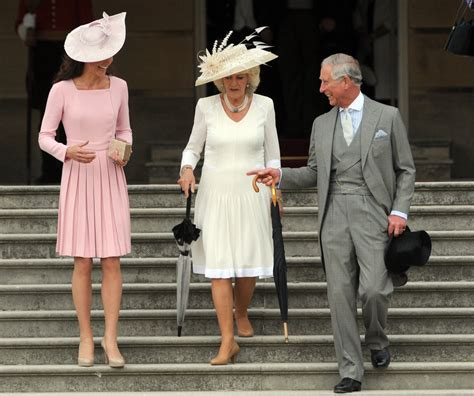 garden formal dress code kate middleton camilla bowles and prince charles