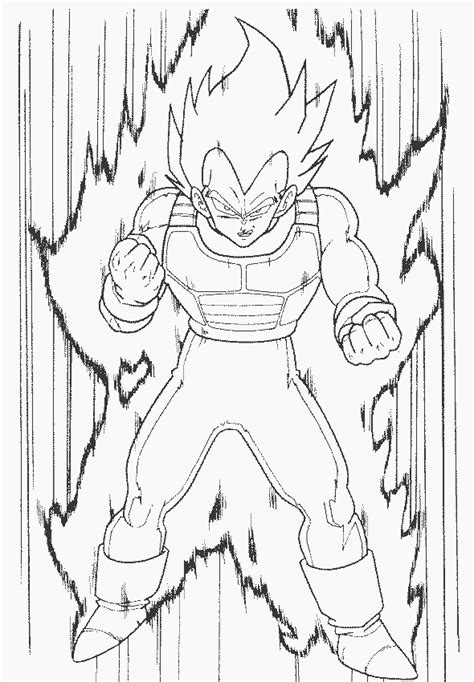 dragon ball z vegeta coloring pages dragon ball gt vegeta coloring pages