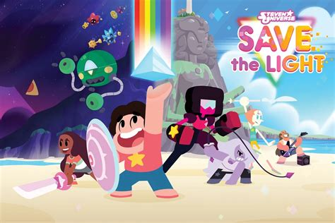 steven universe save the light cartoon network at e3 2017 ok k o and steven universe