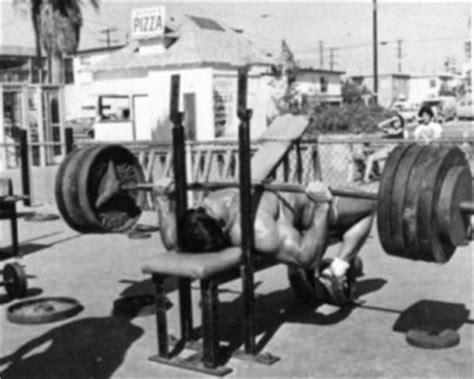 old bench press jason ferruggia s renegade fitness
