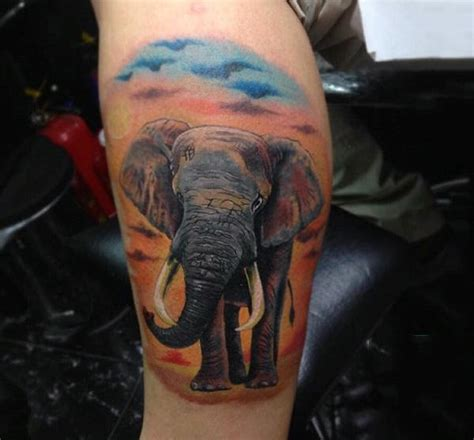 elephant tattoo designs for men 100 elephant designs for think big