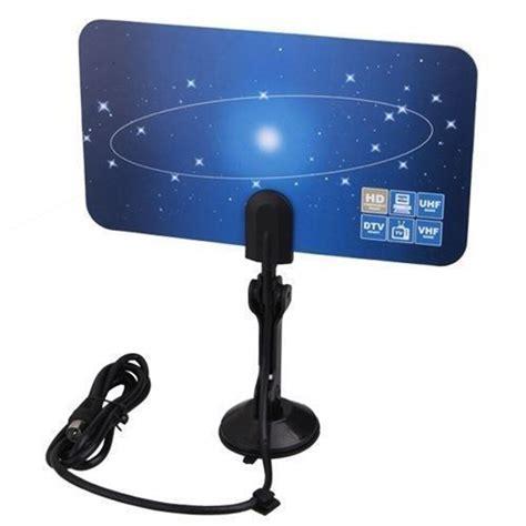 digital indoor vhf uhf ultra thin flat tv antenna for hdtv 1080p dtv hd ready xg ebay