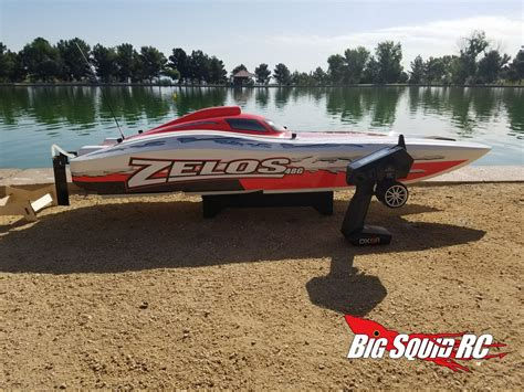 big rc gas boats pro boat zelos 48 type g catamaran 171 big squid rc rc car