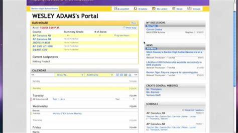 Bps School Calendar Bps School Loop Student Portal Overview Part 3 Right