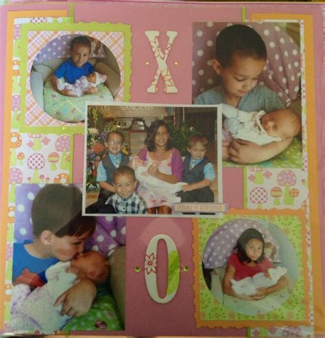 scrapbook layout cousins 12 best simple and basic scrapbook page ideas images on