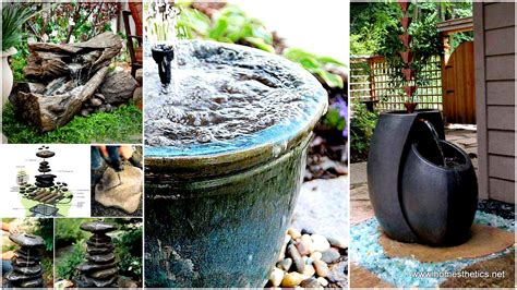backyard water feature diy 26 wonderful outdoor diy water features tutorials and