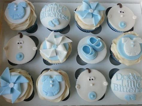 Boy Baby Shower Cup Cakes by Baby Boy Cupcakes Cake By Mrsmurraycakes Cakesdecor