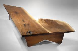unique coffee tables unique coffee table bench by george nakashima 1957 at 1stdibs