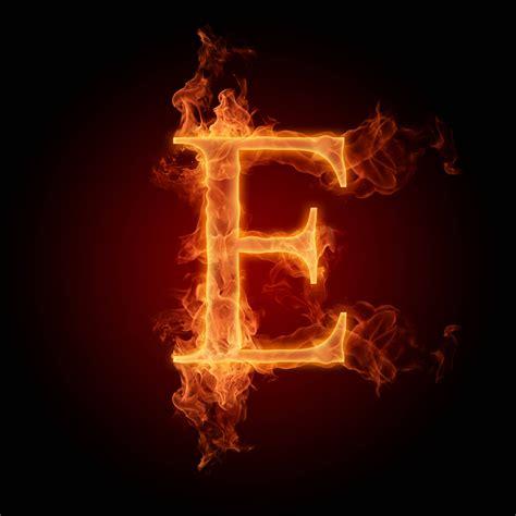 Burning Letters Wallpapers E 270x180 Burning Fire Letters ... E Alphabet Wallpaper