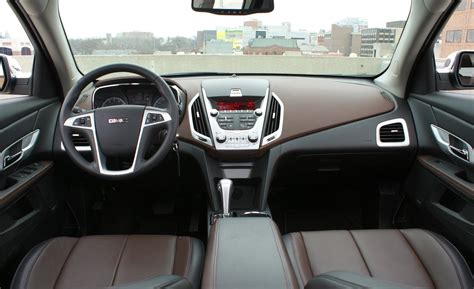 2011 gmc terrain interior car and driver