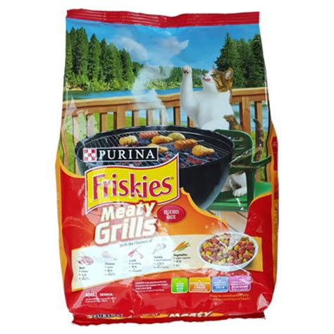 Friskies 3 Kg Meaty Grills อาหารแมว friskies meaty grills ส ม น ำหน ก 1 2 ก โลกร ม