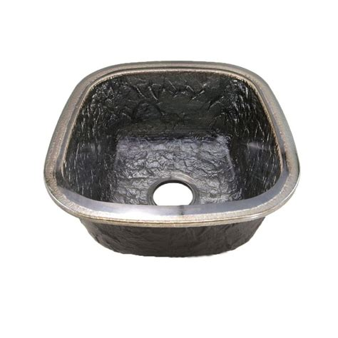 oceana sinks for bathroom jsg oceana undermount glass 17 in 0 hole kitchen sink in