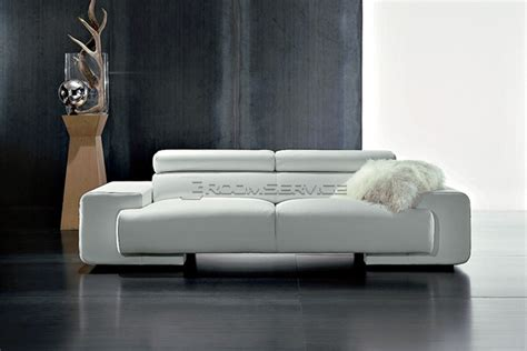 contemporary leather couches modern leather sofa
