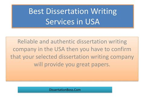 dissertation writing services best dissertation writing services in usa by dissertation
