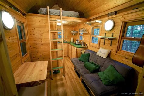 120 Square Foot House | life in 120 square feet tiny house giant journey s trip