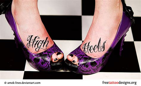 heel tattoos foot gallery