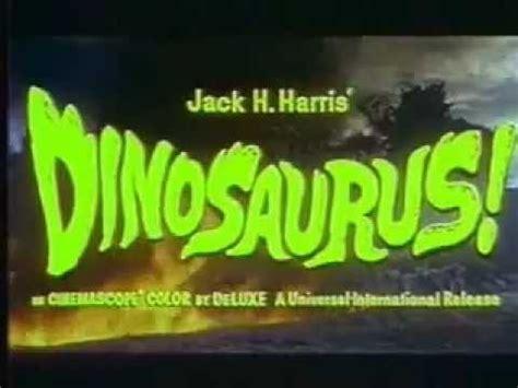 dinosaurus film trailer dinosaurus 1960 trailer youtube