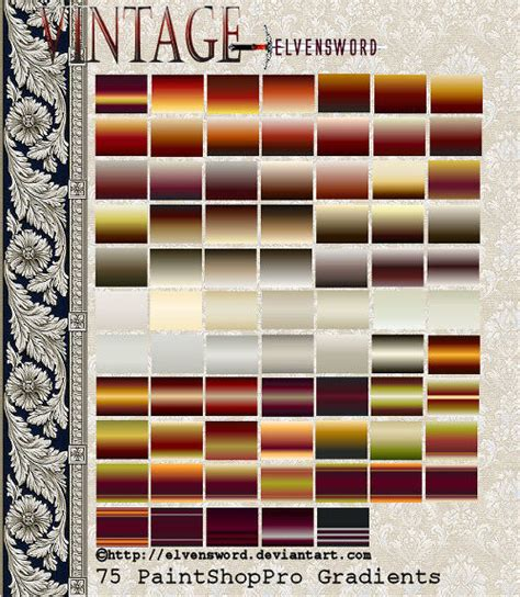 psp themes retro vintage psp gradients by elvensword on deviantart