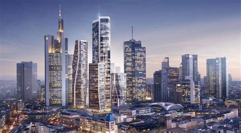 deutsche bank blz frankfurt unstudio s design for the former deutsche bank site will