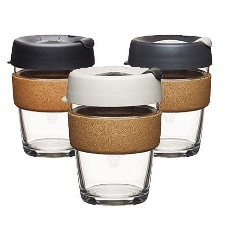 Tumblers Keep Cup Cino 12oz keepcup brew glass coffee cup cork edition 12oz 340ml hello green