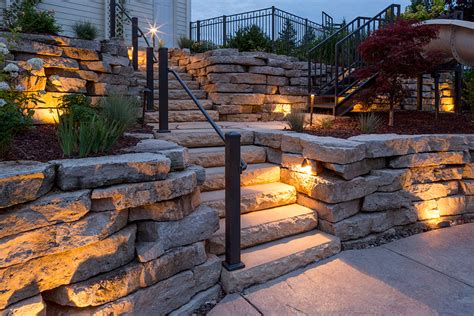 outdoor lighting and landscaping in the fox cities