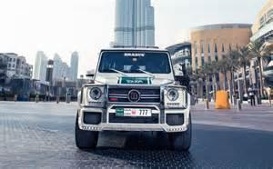 Interior Mobile Home by Brabus B63s 700 Widestar The Latest Dubai Police Car
