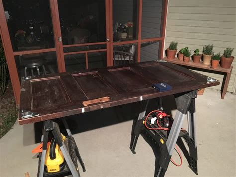 building the standing desk