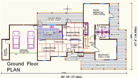 traditional japanese house design floor plan sda architect 187 category 187 japanese house plans