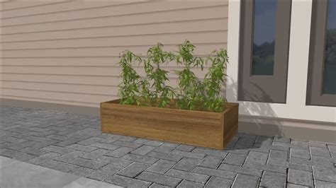How To Build Large Planter Boxes by Expert Advice On How To Build A Wooden Planter Box Wikihow