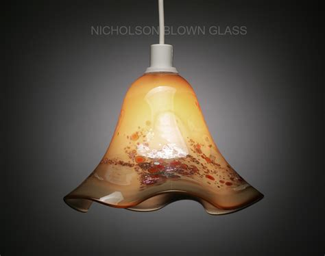 Blown Glass Pendant Lighting Nicholson Blown Glass Pendant Lighting