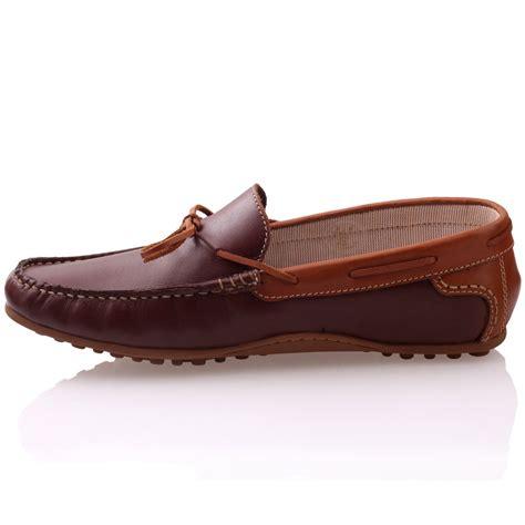 Sepatu Mocassin Casual Avail Brown unze mens giovini slipons leather moccasins shoes uk size