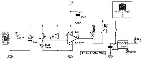 sight illuminator circuit