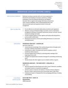 warehouse distribution resume why hire a resume writer cv