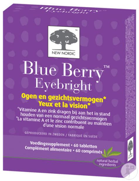 New Nordic Blueberry Eye Bright 60tabs new nordic blue berry eyebright 60 tabletten hier