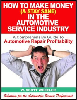 how to make money stay sane in the automotive service