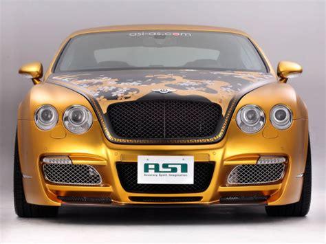 bentley car gold gold plated bentley w66 gts car costs 800 000 car values