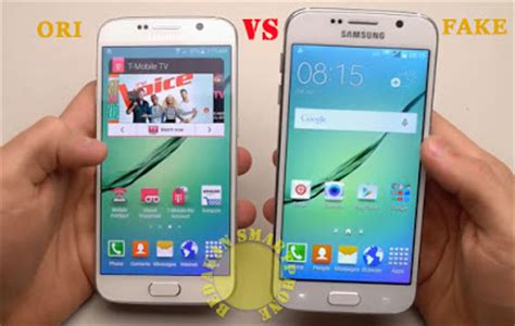 Hp Samsung S6 Replika 8 trik cara membedakan samsung galaxy s6 palsu replika supercopy tiruan dan kw bjwenan